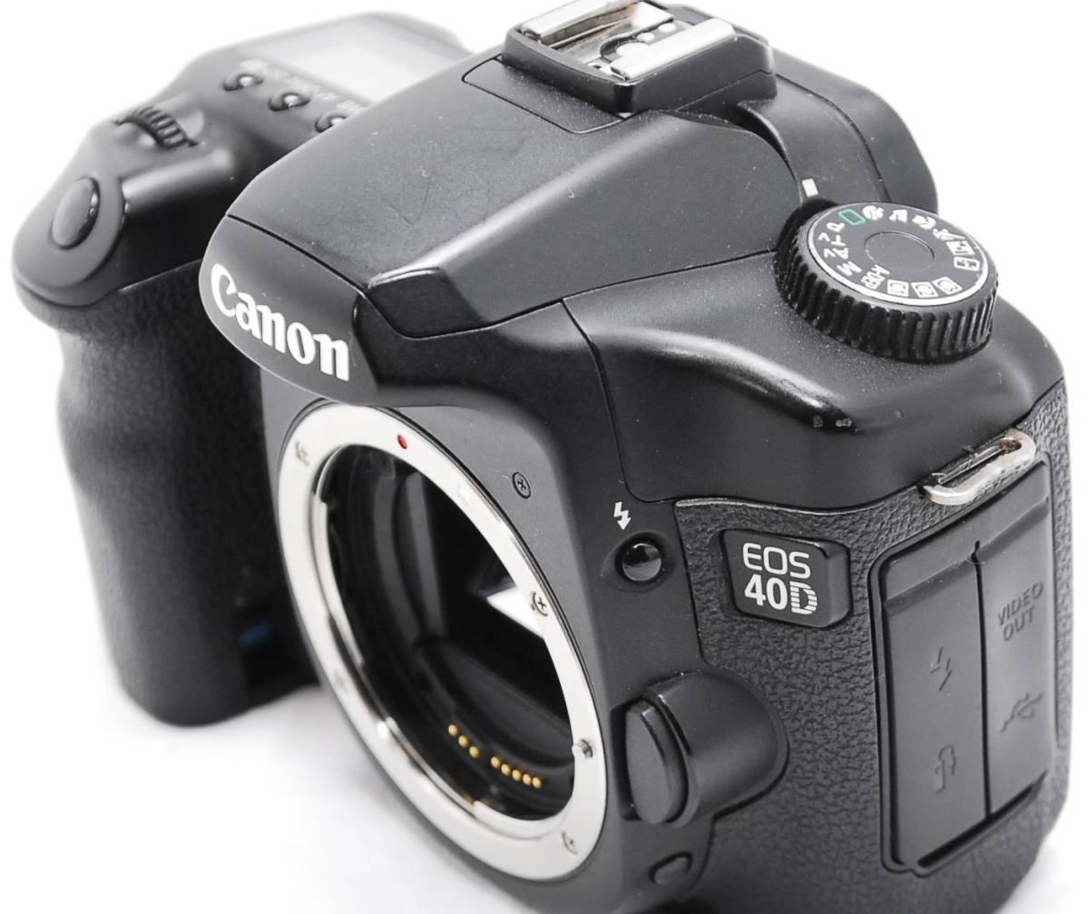 【動作未確認】Canon キヤノン EOS 40D ジャンク_画像4