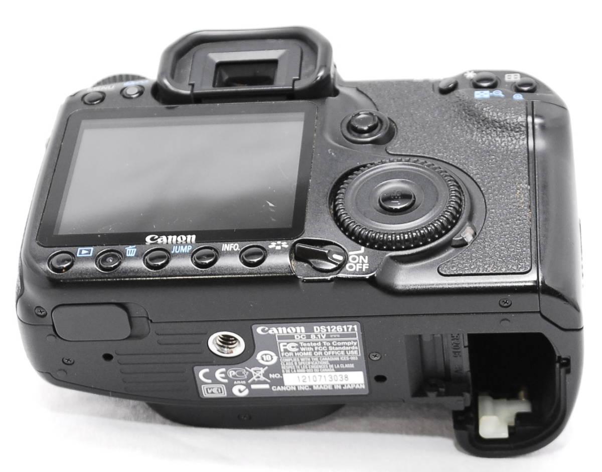 【動作未確認】Canon キヤノン EOS 40D ジャンク_画像9