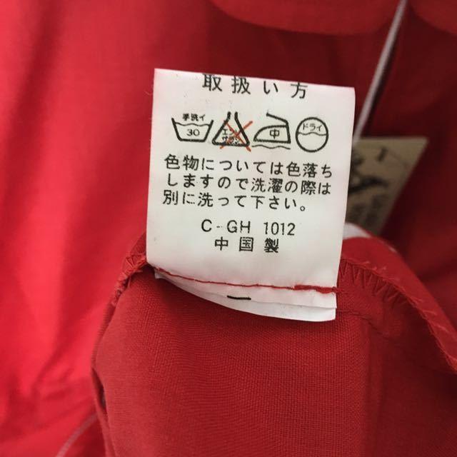 ☆デッドストック☆ SAFARI ROOKIE サファリルーキー スイングトップ ジャケット レッド Lサイズ フルジップ_画像6
