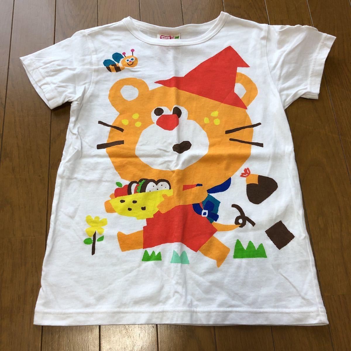 JAM 半袖Tシャツ じゃりとぐま 白 130 中古品