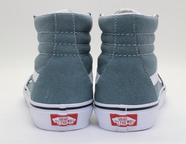【USA購入 正規新品】VANSバンズ 27.5cm スケートハイ SK8-HI ゴブリンブルー スエード革 キャンバス ビンテージ 靴シューズ☆9a165_画像3
