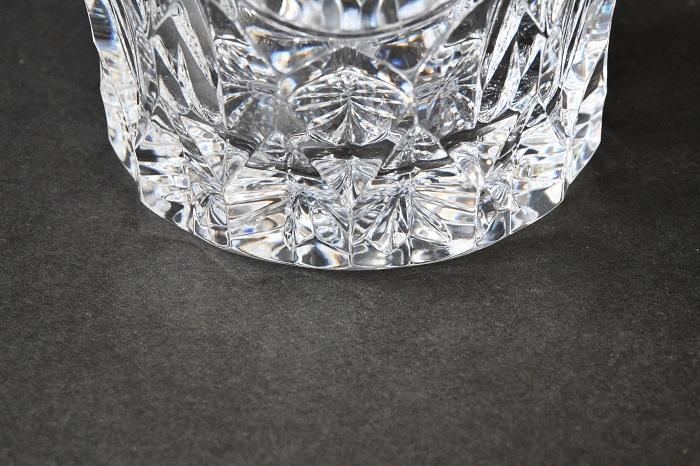 【美品】Baccarat/バカラ バカラ誕生 225周年記念 特別記念作品 金彩紋章ロックグラス ③_画像4