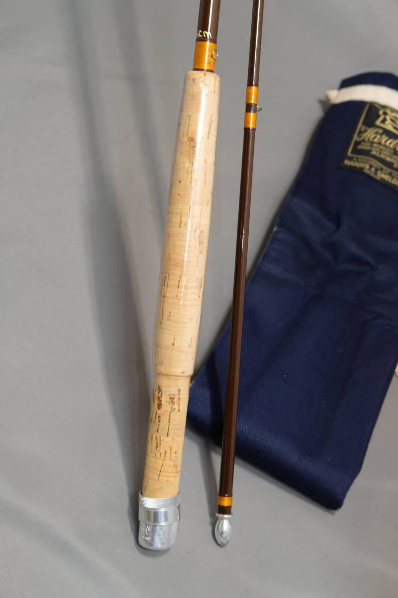貴重な未使用品 HARDY FIBALITE 7フィート #4 グラスロッド ハーディ ファイバライト_画像3