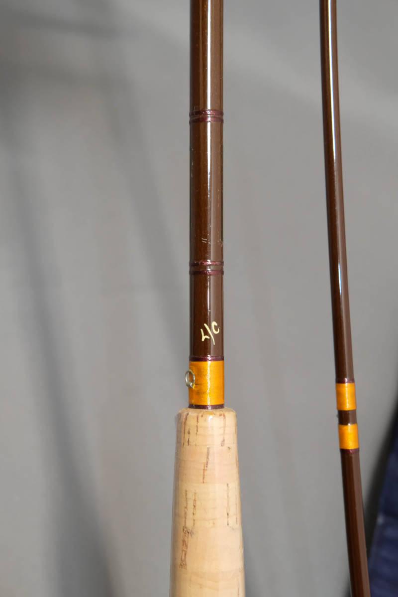 貴重な未使用品 HARDY FIBALITE 7フィート #4 グラスロッド ハーディ ファイバライト_画像4