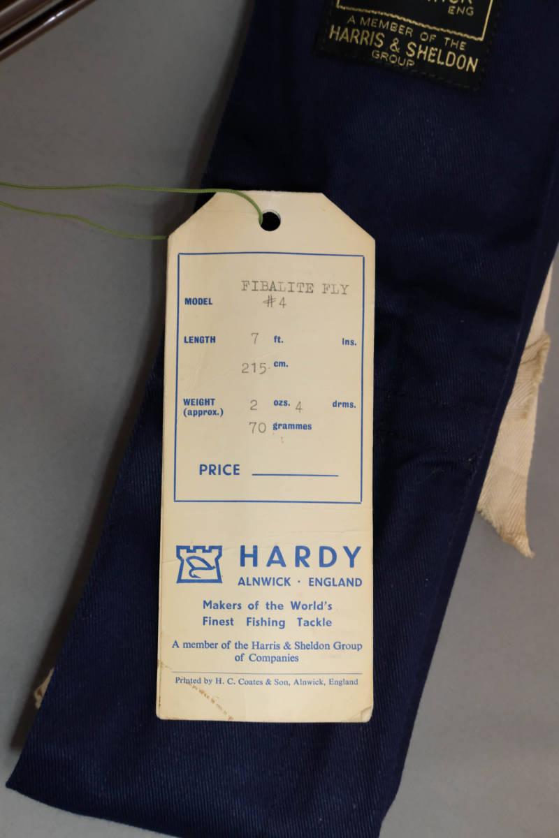 貴重な未使用品 HARDY FIBALITE 7フィート #4 グラスロッド ハーディ ファイバライト_画像8