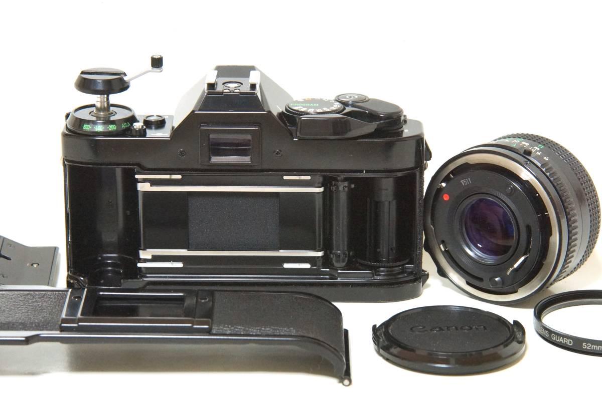 Canon AE-1P NewFD50mmF1.8 標準レンスセット【動作確認済】_画像8