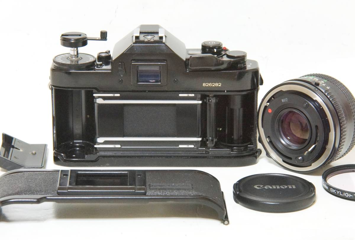 Canon A-1 NewFD50mmF1.8標準レンズセット【動作確認済】_画像8