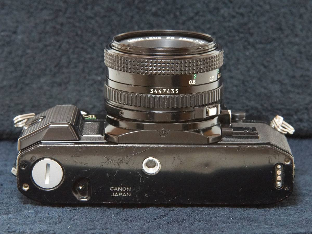 Canon AE-1P NewFD50mmF1.8 標準レンスセット【動作確認済】_画像5