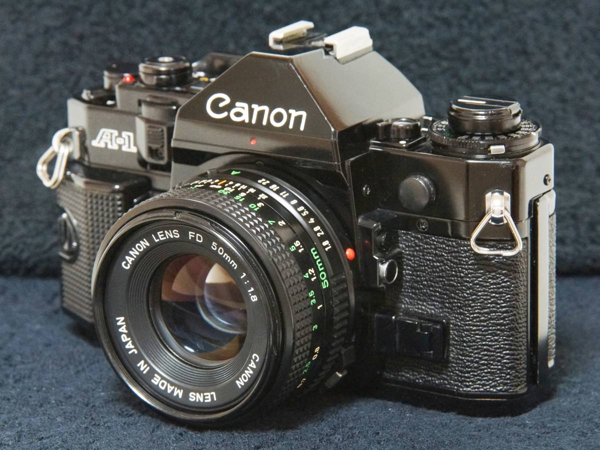 Canon A-1 NewFD50mmF1.8標準レンズセット【動作確認済】_画像2