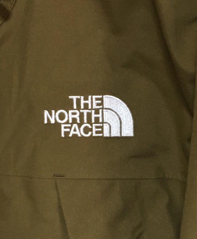 新品 NORTH FACE ノースフェイス エクスプロレーション パーカー NP61704 マウンテンパーカー オリーブ Lサイズ 緑 ライトジャケット_画像5
