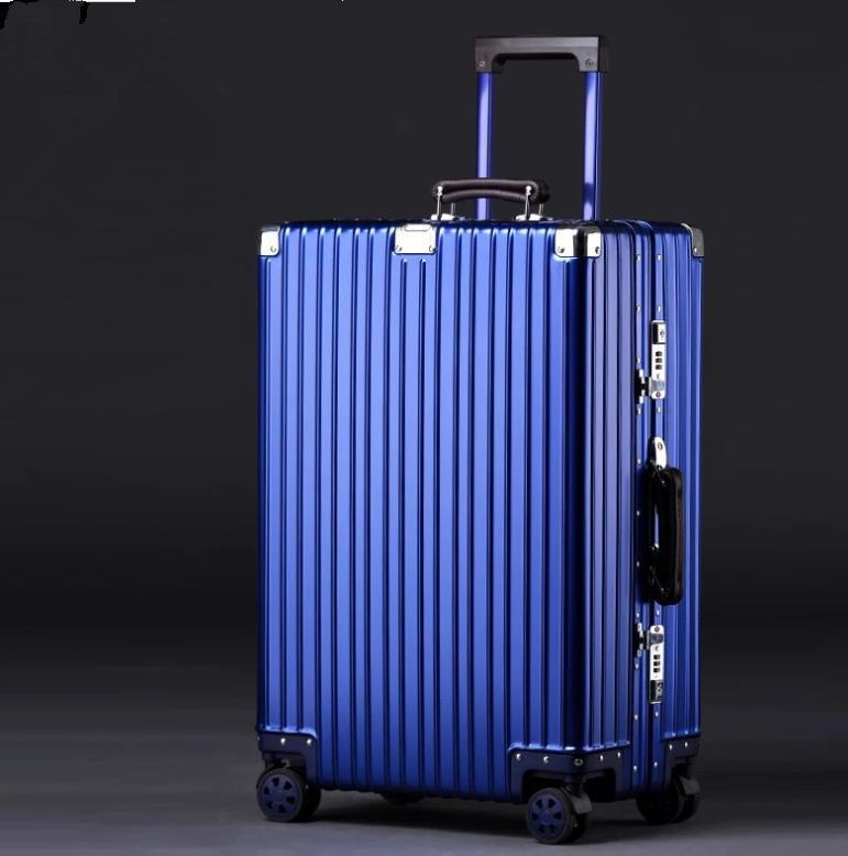 【定価28万】高品質★非常に人気★マグネシウム合金携帯バッグは、ロック付きのビジネスバッグを持ち歩いて20インチ