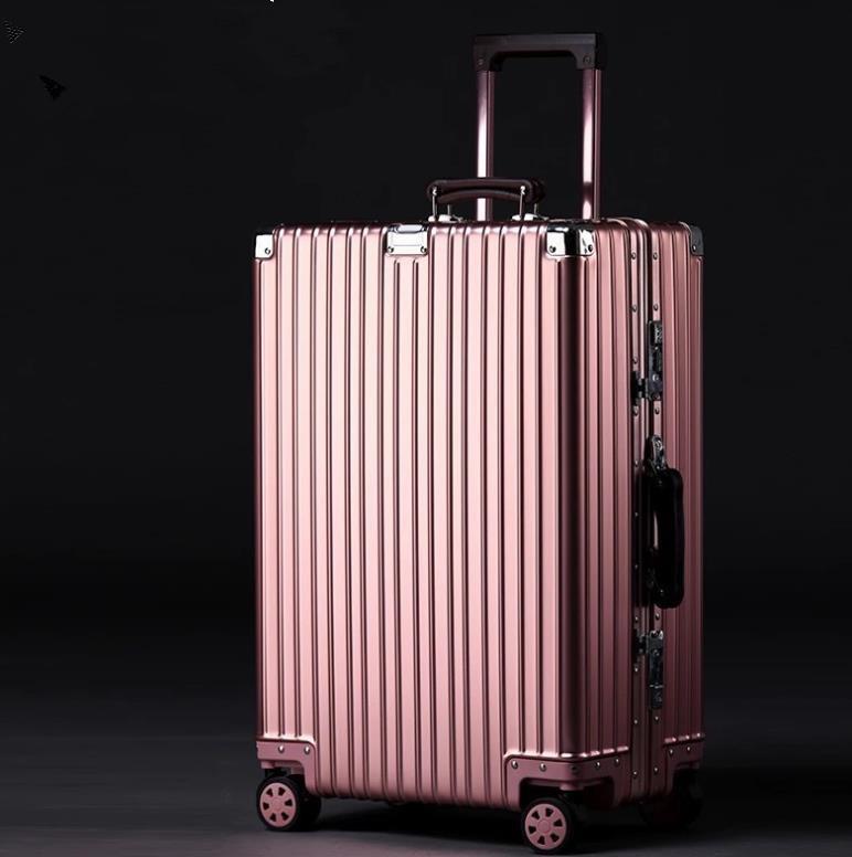 【定価28万】高品質★非常に人気★マグネシウム合金携帯バッグは、ロック付きのビジネスバッグを持ち歩いて20インチ_画像2