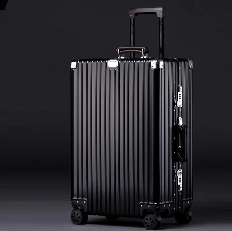 【定価28万】高品質★非常に人気★マグネシウム合金携帯バッグは、ロック付きのビジネスバッグを持ち歩いて20インチ_画像4