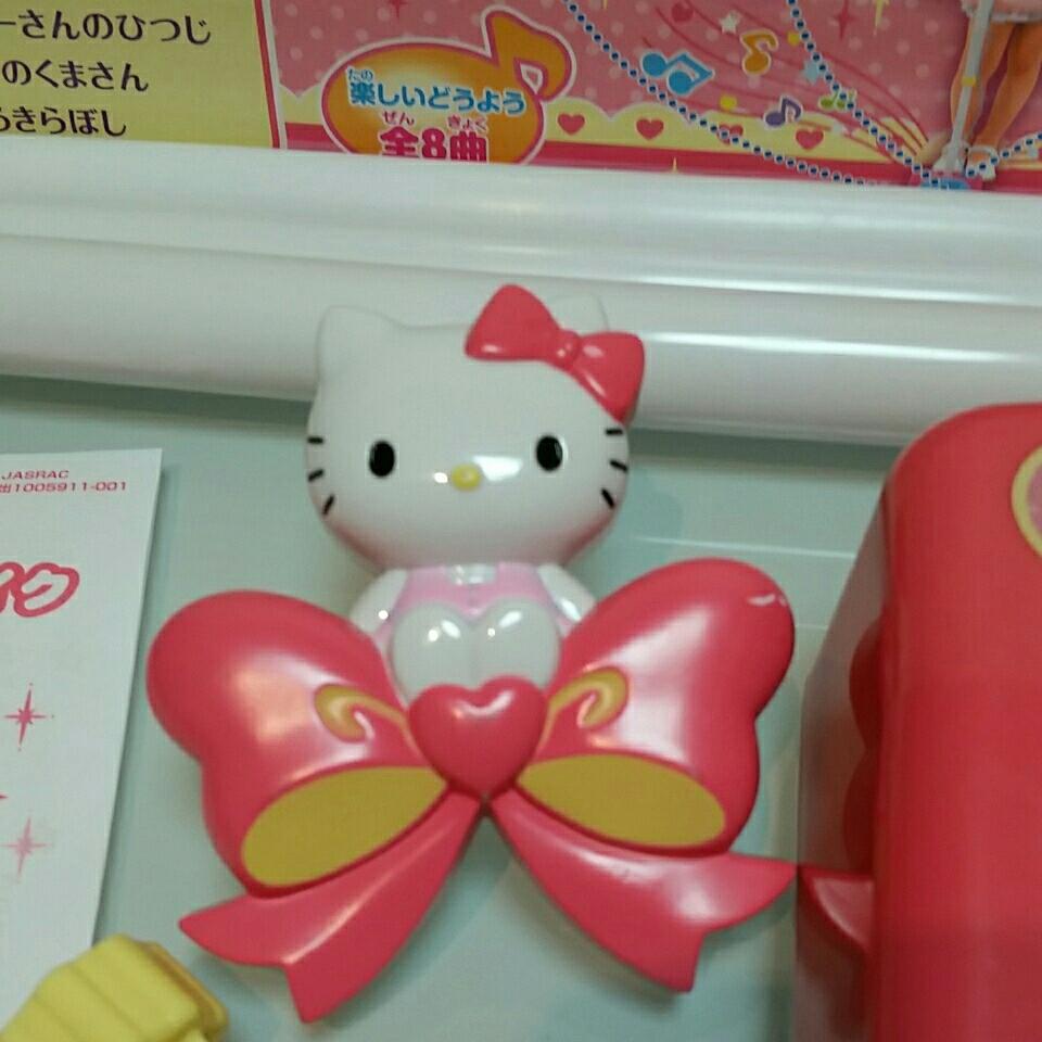 HELLO Kitty★ハローキティ★カラオケステージマイク★3モード★動作確認済み_画像8