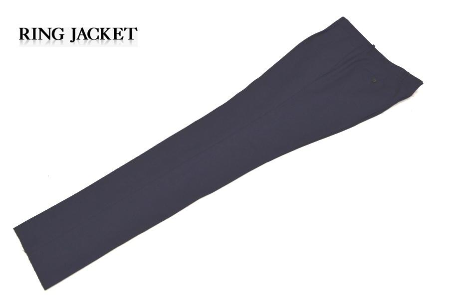 【新品タグ付き】 RING JACKET リングヂャケット 「MEISTER マイスター」 艶ネイビー 日本製 高級モヘヤスーツ 44_画像9
