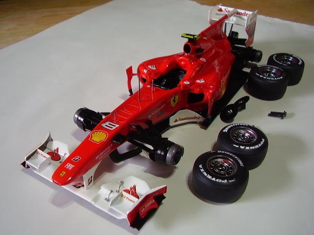 フジミ フェラーリ F10 完成 素人製作品_画像1
