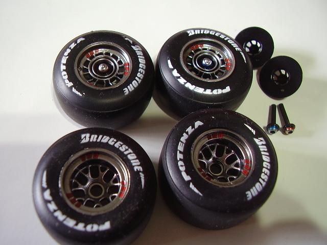 フジミ フェラーリ F10 完成 素人製作品_画像3