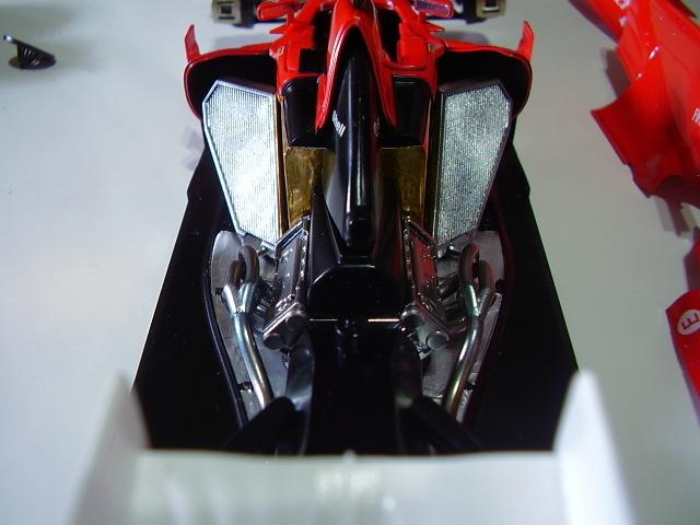 フジミ フェラーリ F10 完成 素人製作品_画像6