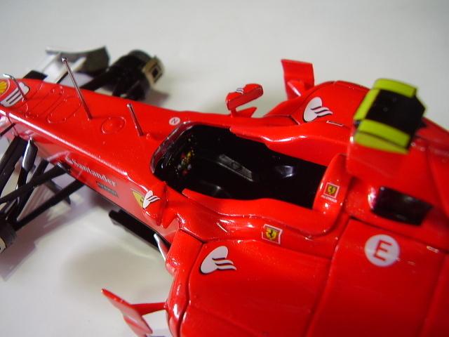 フジミ フェラーリ F10 完成 素人製作品_画像4