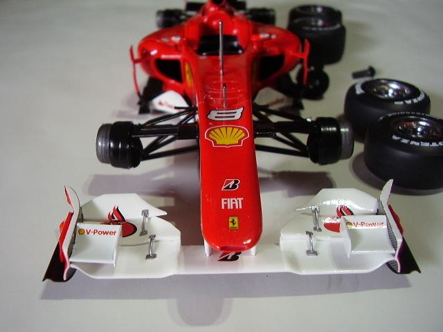 フジミ フェラーリ F10 完成 素人製作品_画像2