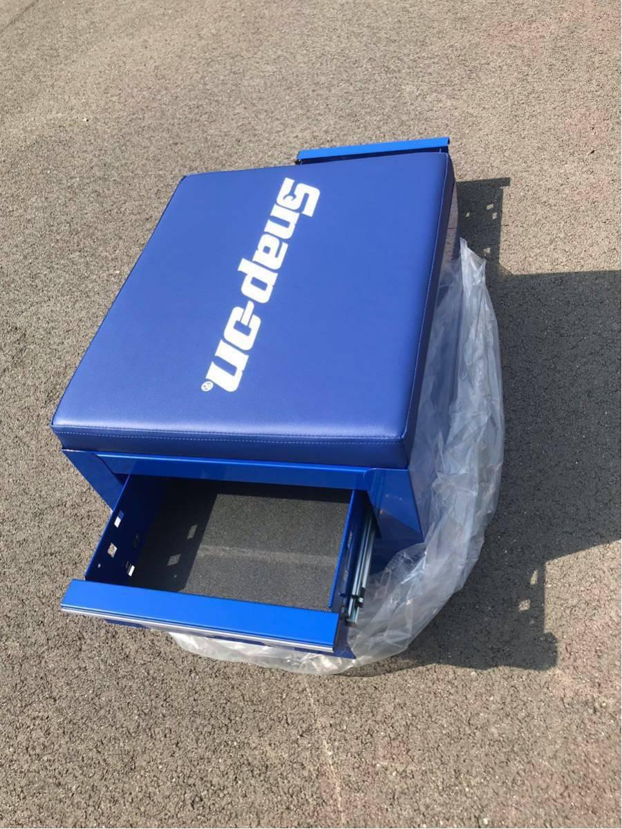 新品未使用 スナップオン JCSCBLBL フラット シート クリーパー ブルー キャスター付き 工具箱 snapon _画像5