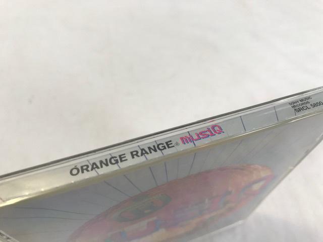 ORANGE RANGE オレンジレンジ MUSIQ アルバム CD 中古_画像6