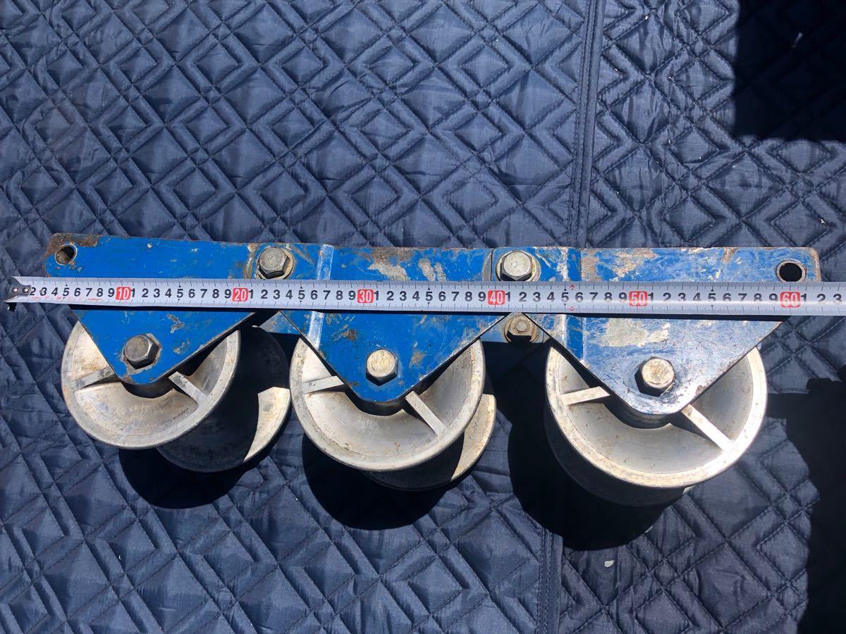 ● 釣車 吊り金車 ケーブル滑車 ダイワ製作所 電設工具 滑車 ダイワ _画像2