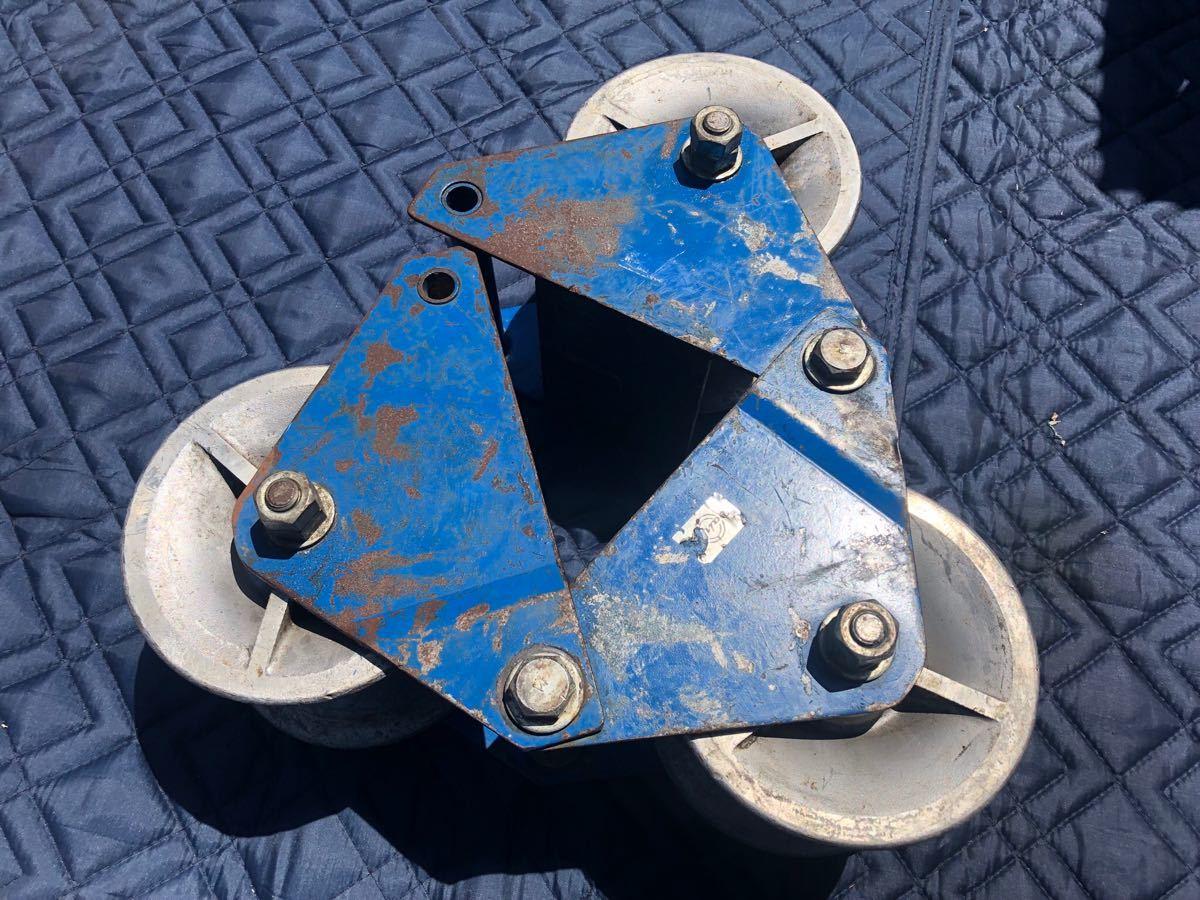 ● 釣車 吊り金車 ケーブル滑車 ダイワ製作所 電設工具 滑車 ダイワ _画像6