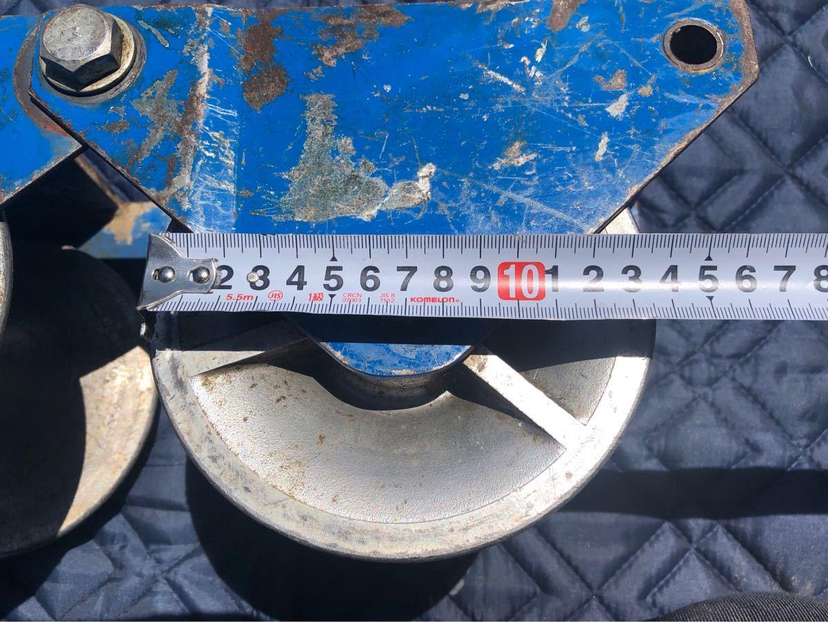 ● 釣車 吊り金車 ケーブル滑車 ダイワ製作所 電設工具 滑車 ダイワ _画像3