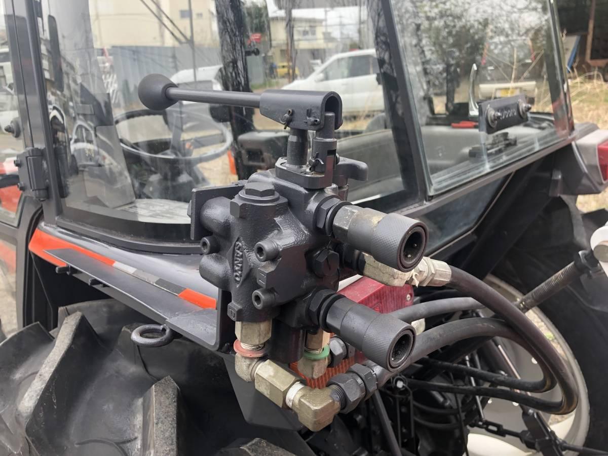 クボタ GL368 ハイスピード トラクター エアコンキャビン付き 4WD 36馬力 外部油圧付 ロータリー付_画像9