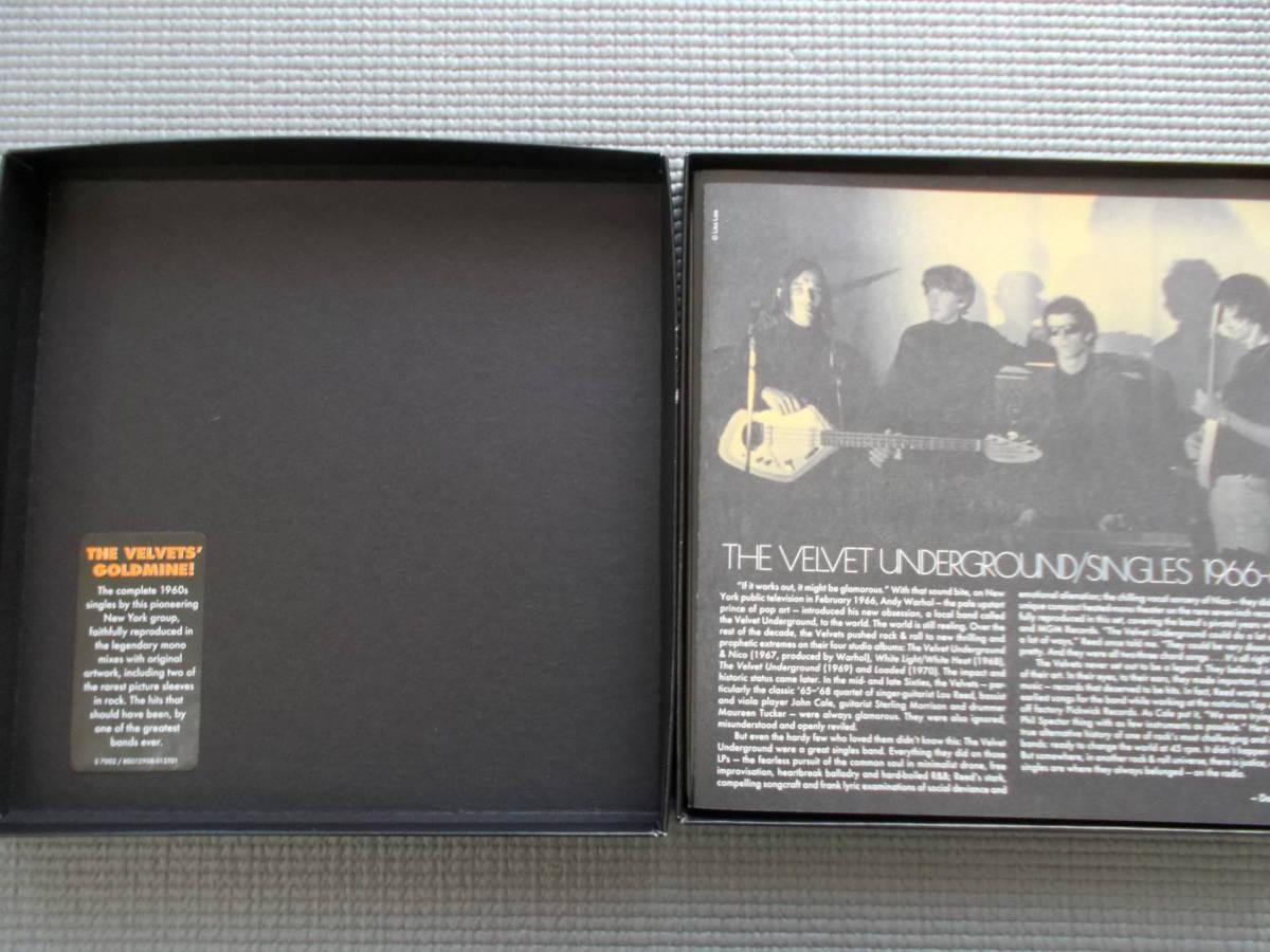 THE VELVET UNDERGROUND SINGLES 1966-69 初回盤7枚組MONOシングル・ボックスセット_画像3