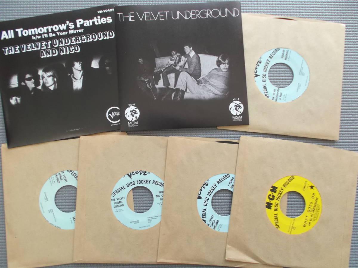 THE VELVET UNDERGROUND SINGLES 1966-69 初回盤7枚組MONOシングル・ボックスセット_画像4