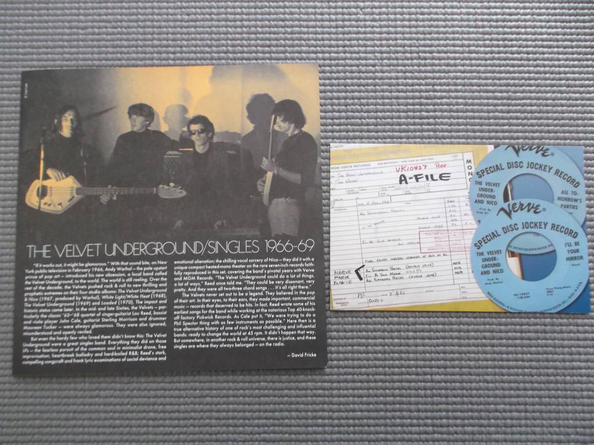 THE VELVET UNDERGROUND SINGLES 1966-69 初回盤7枚組MONOシングル・ボックスセット_画像5