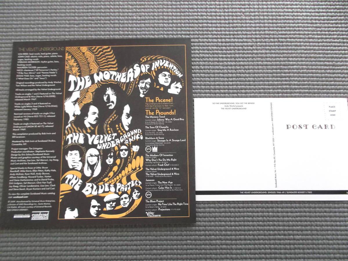 THE VELVET UNDERGROUND SINGLES 1966-69 初回盤7枚組MONOシングル・ボックスセット_画像6