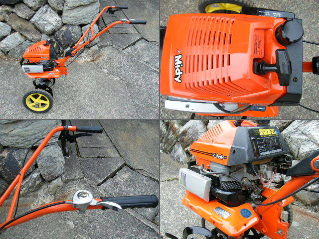 クボタ 耕運機 TMA21 移動車輪付 管理機 家庭菜園 農機具