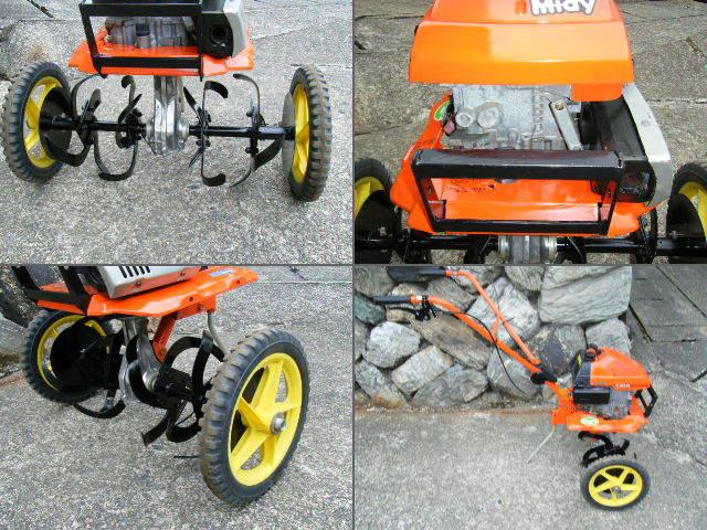 クボタ 耕運機 TMA21 移動車輪付 管理機 家庭菜園 農機具_画像2
