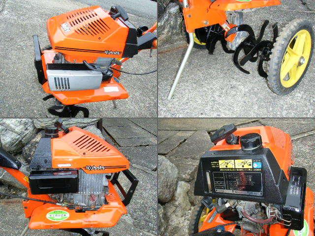 クボタ 耕運機 TMA21 移動車輪付 管理機 家庭菜園 農機具_画像3