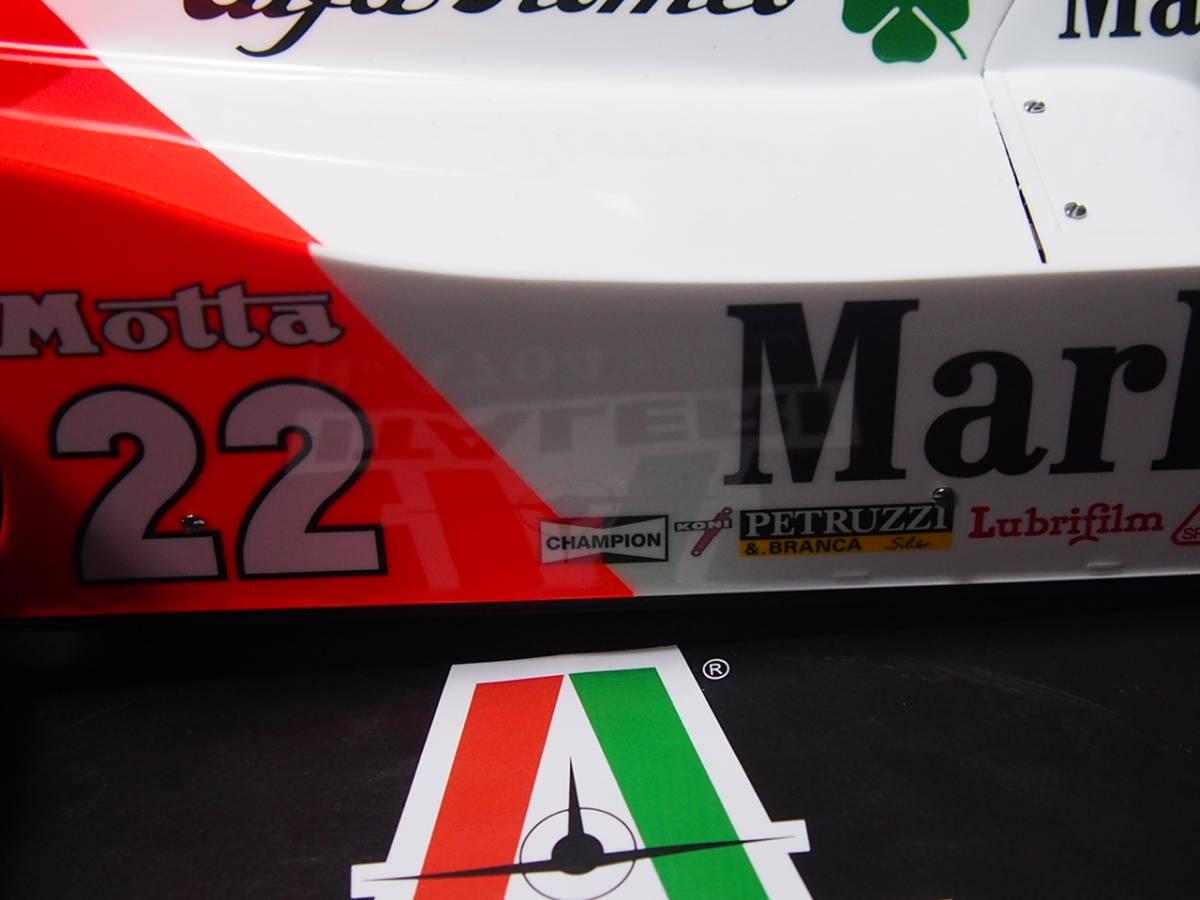 1/12 ITALERI Alfa Marlboro MarioAndretti 完成品_画像4