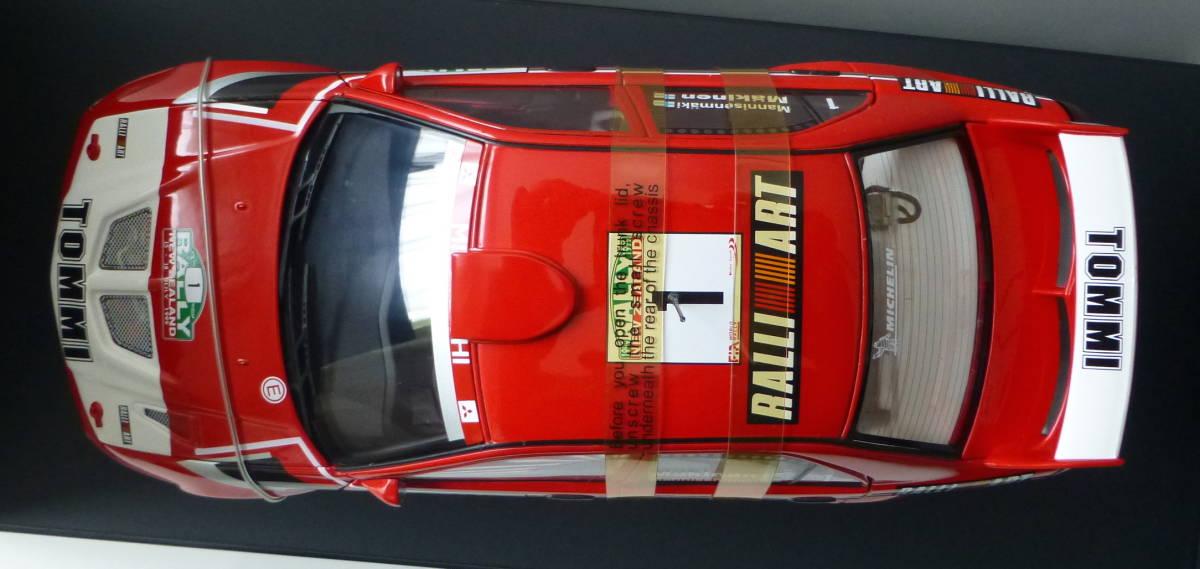 オートアート 1/18 三菱 ランサーエボリューション VI WRC 1999 #1 トミ・マキネン ラリーニュージーランド優勝車 _画像5