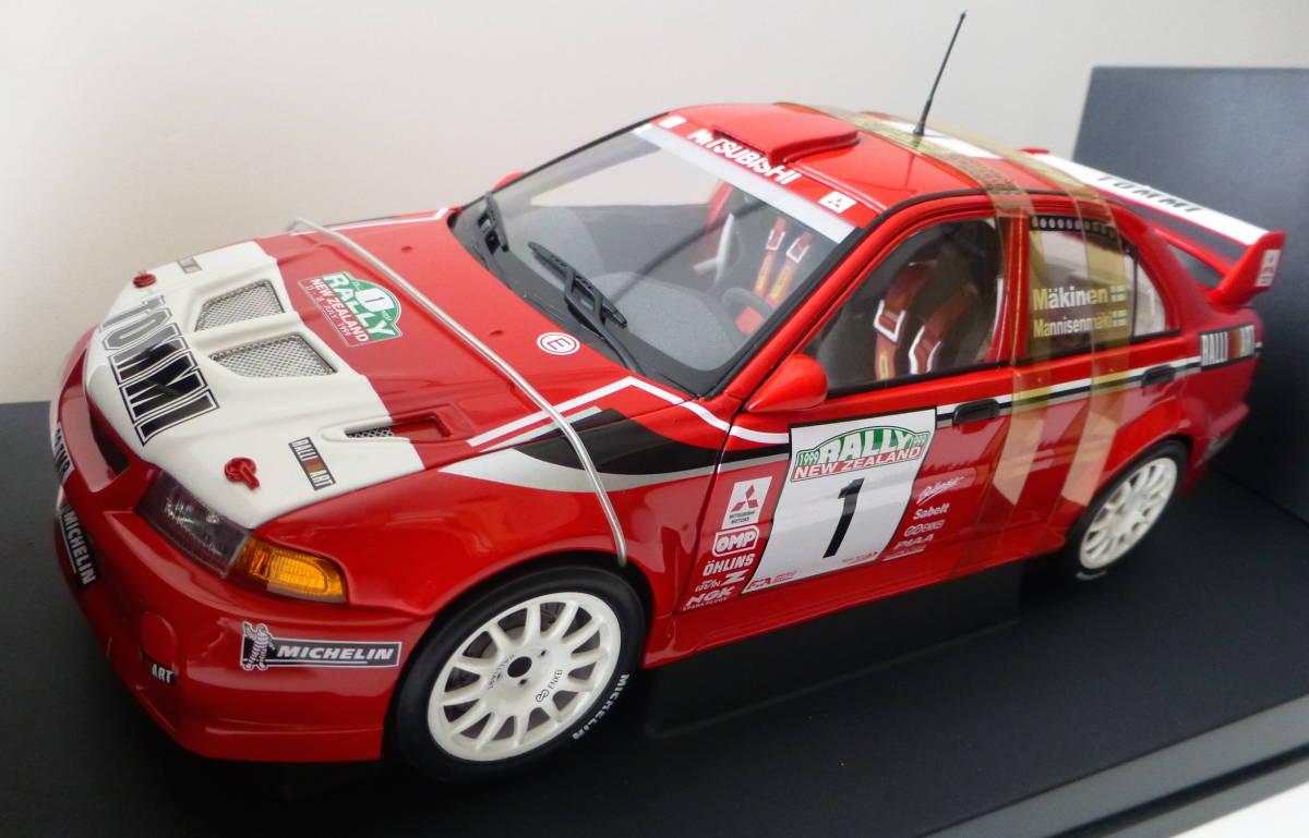 オートアート 1/18 三菱 ランサーエボリューション VI WRC 1999 #1 トミ・マキネン ラリーニュージーランド優勝車