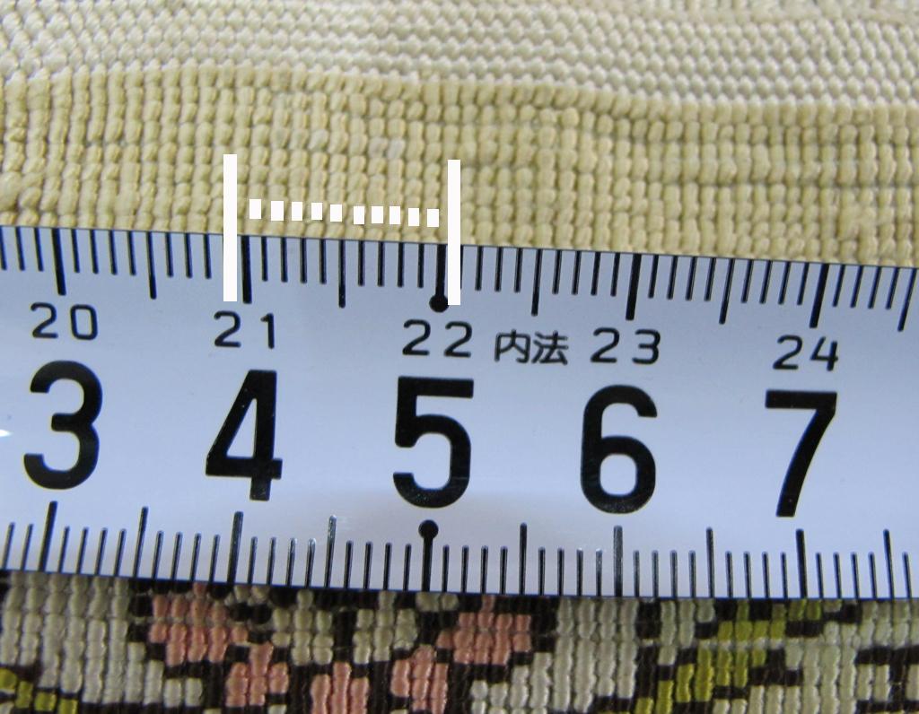 逸品!緻密10ノット 最高級シルク ペルシャ絨毯 玄関マットサイズ 93×66_画像10