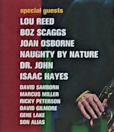デイヴィッド・サンボーン & フレンズ ザ・スーパー・セッション 1998年国内盤 David Sanborn & Friends The Super Session_画像2