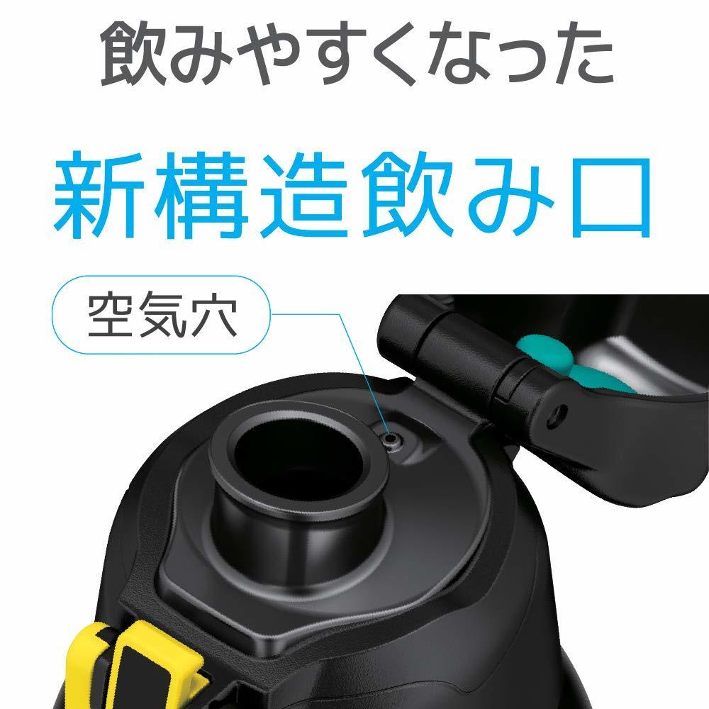 M1066■未使用品■サーモス 水筒 真空断熱スポーツボトル ブラックカモフラージュ 1.0L FHT-1000F BK-C_画像3