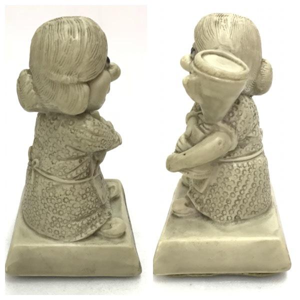 メッセージドール World's Best Mother インテリア アンティーク 雑貨 小物 置物 レトロ オールド ビンテージ シリースカルプス D-1811_画像2