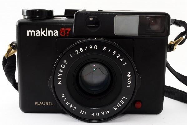 PLAUBEL プラウベル makina67 マキナ67 NIKKOR 2.8 80 404188_画像7