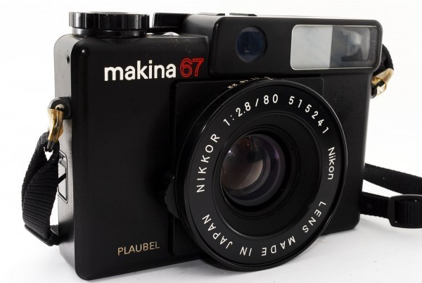 PLAUBEL プラウベル makina67 マキナ67 NIKKOR 2.8 80 404188_画像8