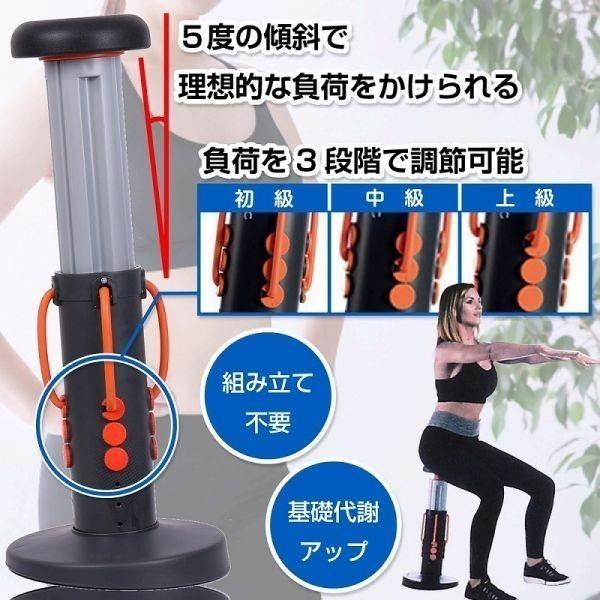 豪華特典付! エクササイズ スクワットマジック ヒップアップ 動画DVD付 効果的な自動 下半身運動器具 運動器具 運動用品 日本語説明書付b_画像3