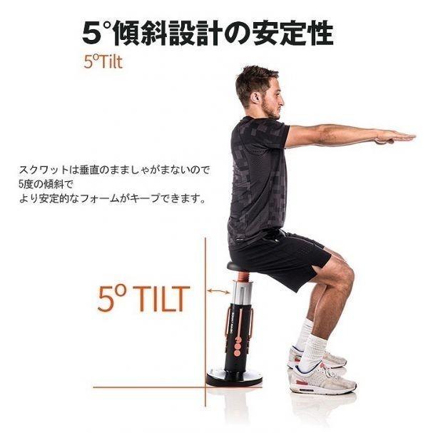 豪華特典付! エクササイズ スクワットマジック ヒップアップ 動画DVD付 効果的な自動 下半身運動器具 運動器具 運動用品 日本語説明書付b_画像7