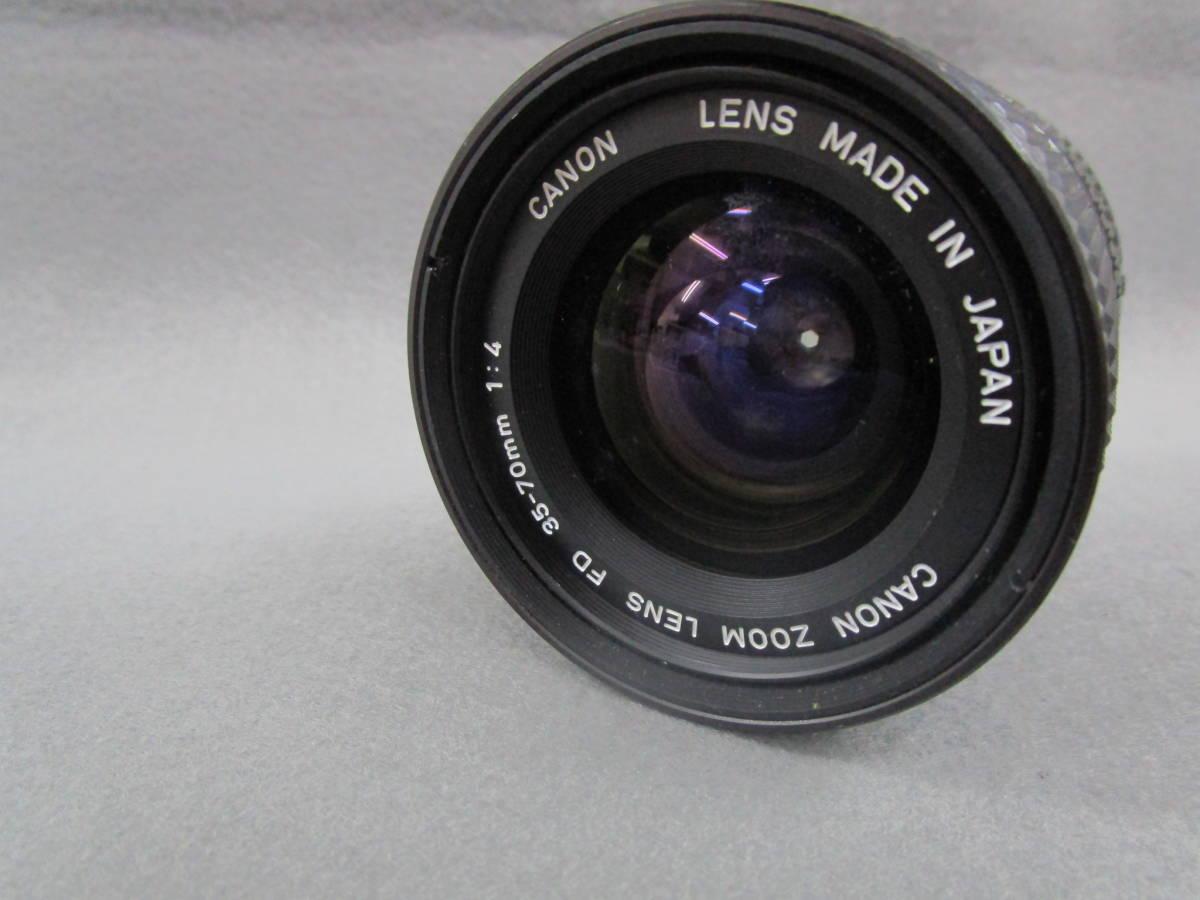 【中古カメラ】Canon キャノン A-1 ボディ + FD 35-70mm F4 / 現状品_画像10