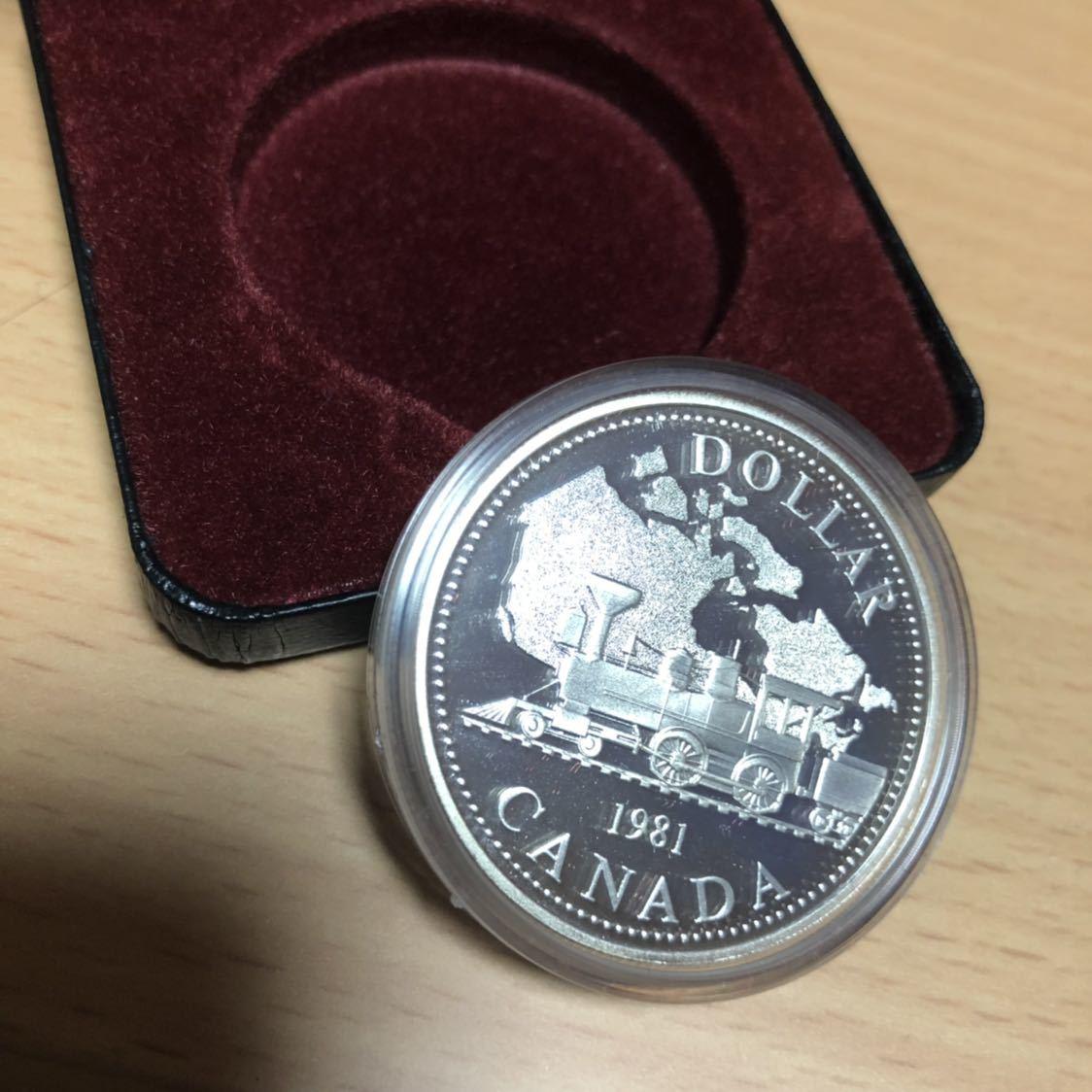 希少!!新品 カナダ銀貨 プルーフ ロイヤルカナディアンミント エリザベス二世 ケース入り
